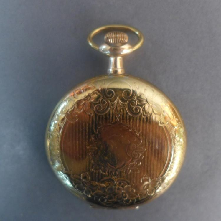 Capitol 21 Jewel Hunter Case Pocket Watch