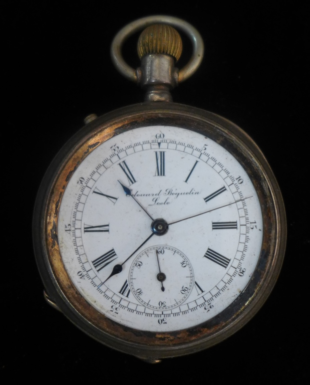 Edouard Beguelin, Locle Pocket Watch