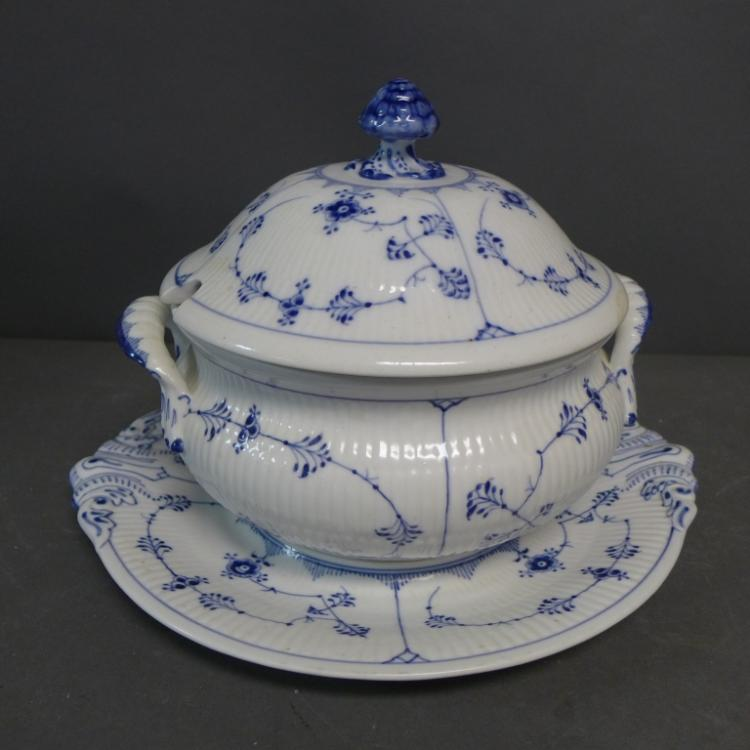 Royal Copenhagen Soup Tureen and Stand
