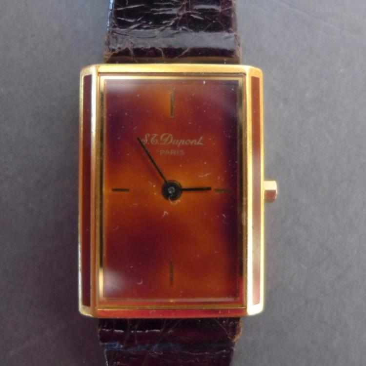Vintage S.T. DuPont Unisex Laque de Chine Watch