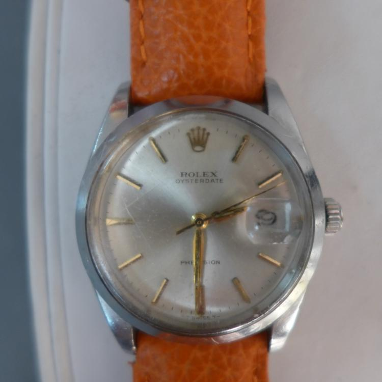 Rolex Oysterdate Precision Wrist Watch