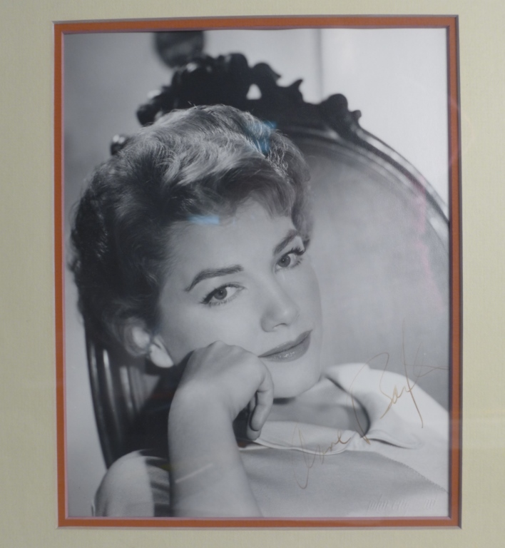 Autographed Photo of Anne Baxter