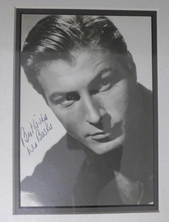 Lex Barker Autographed Photo