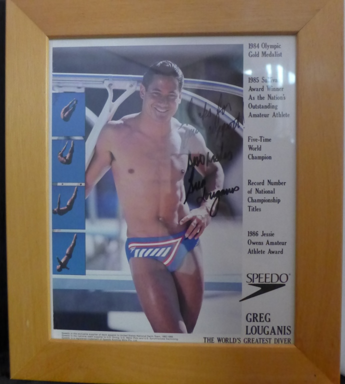 Greg Louganis Autographed Photo