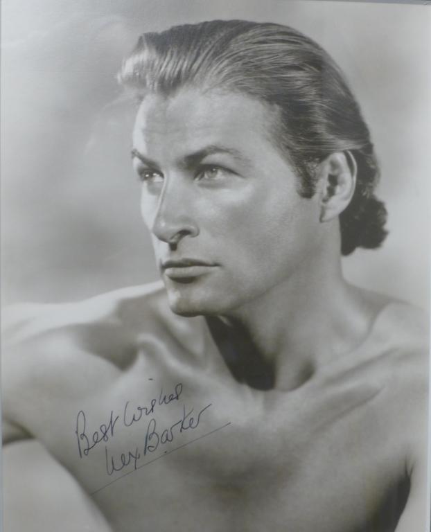 Autographed Photo of Actor Lex Barker