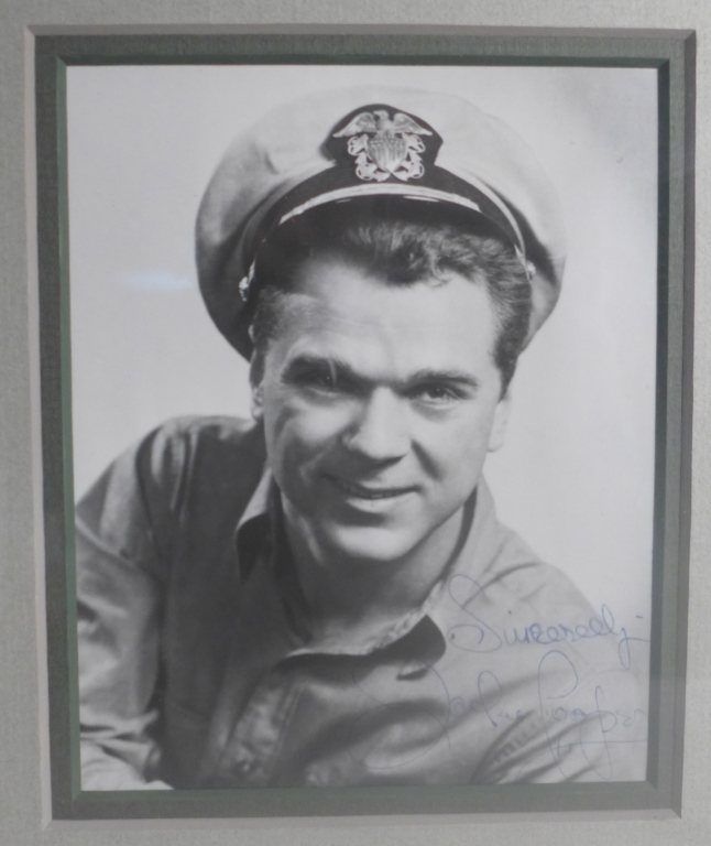 Autographed Photo of Jackie Cooper