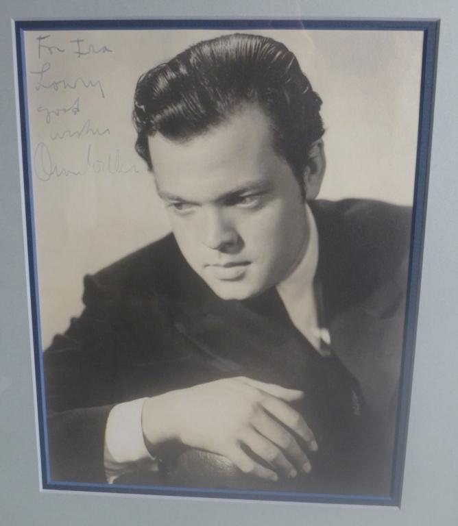 Orson Welles Autographed Photo