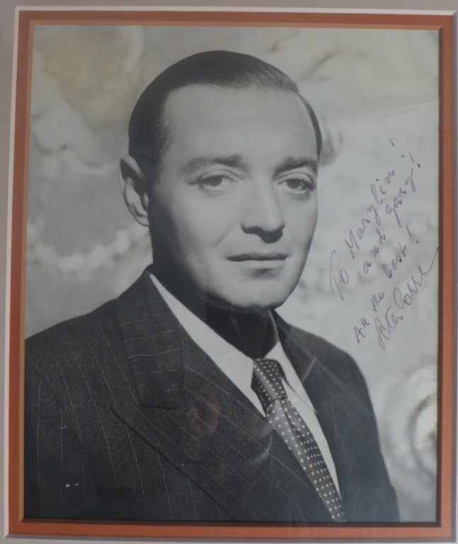 Autographed Photo of Actor Peter Lorre