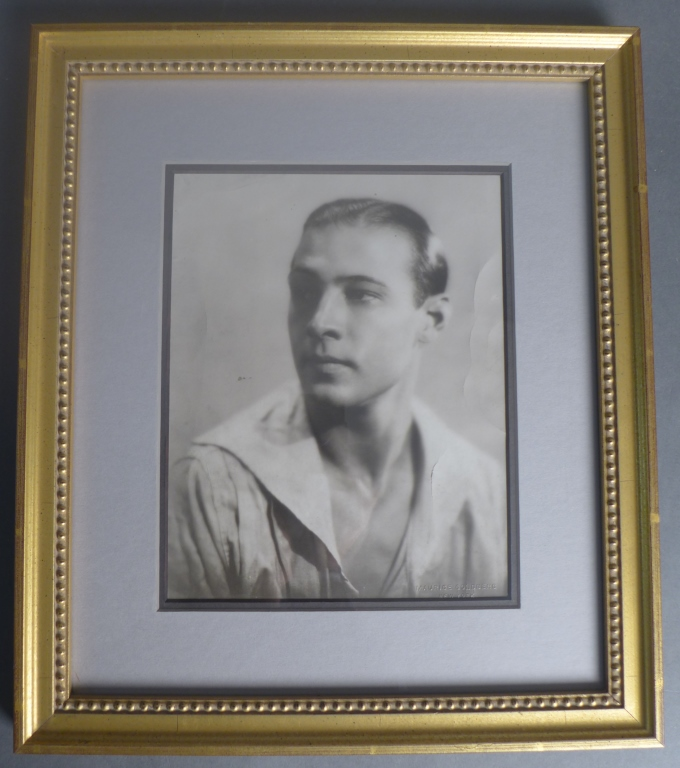 Rudolph Valentino Photograph
