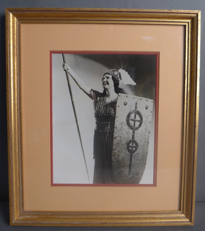 Kirsten Flagstad Autographed Photo