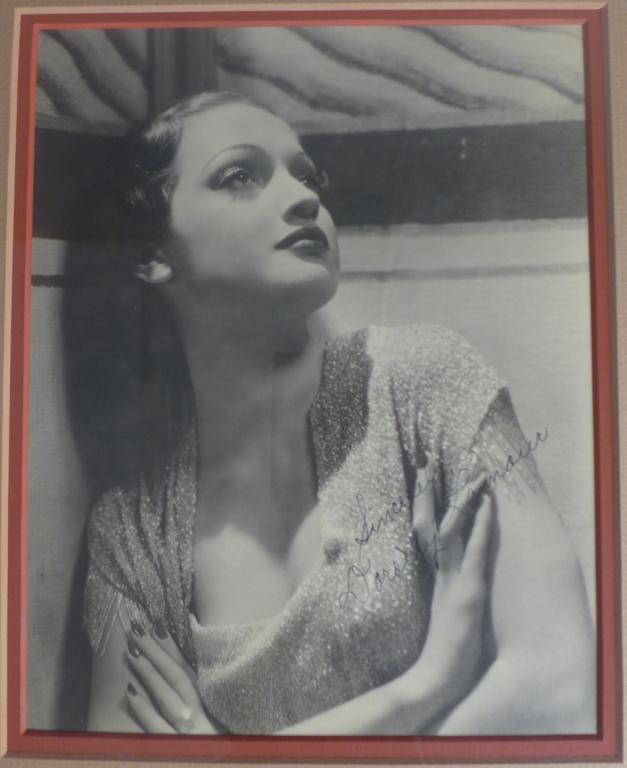 Dorothy Lamour Autographed Photo