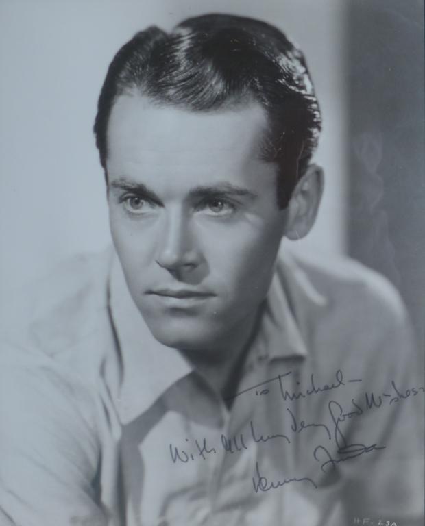 Henry Fonda Autographed Photo