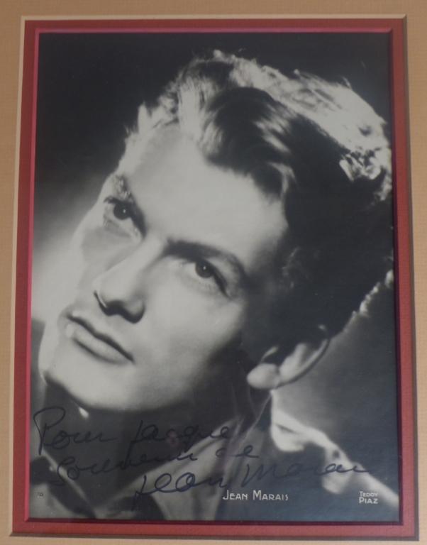 Jean Marais Autogrpahed Photo