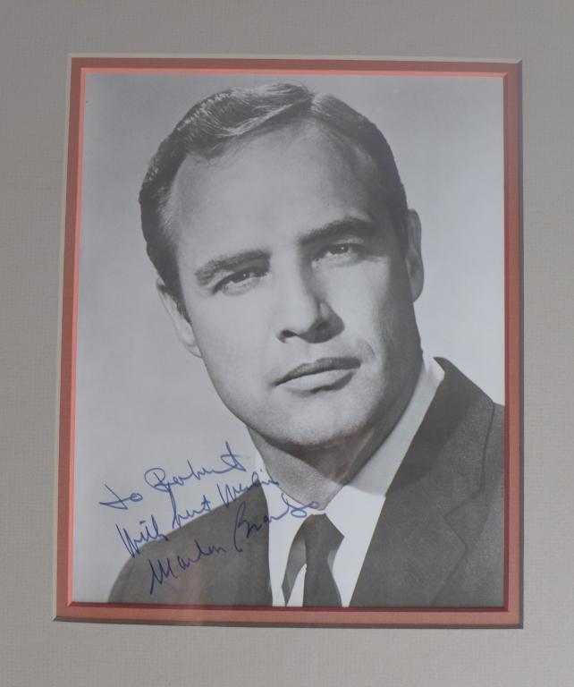 Marlon Brando Autographed Photo