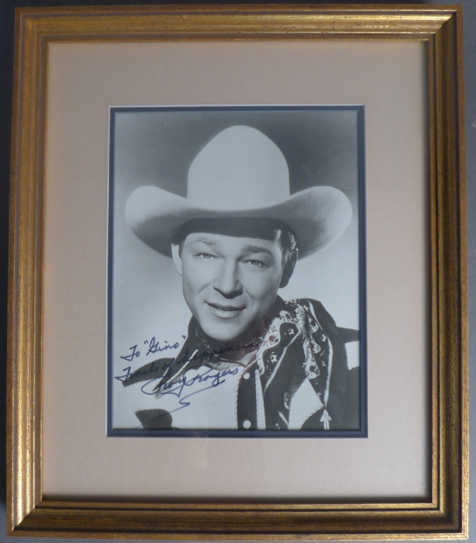 Roy Rogers Autographed Photo