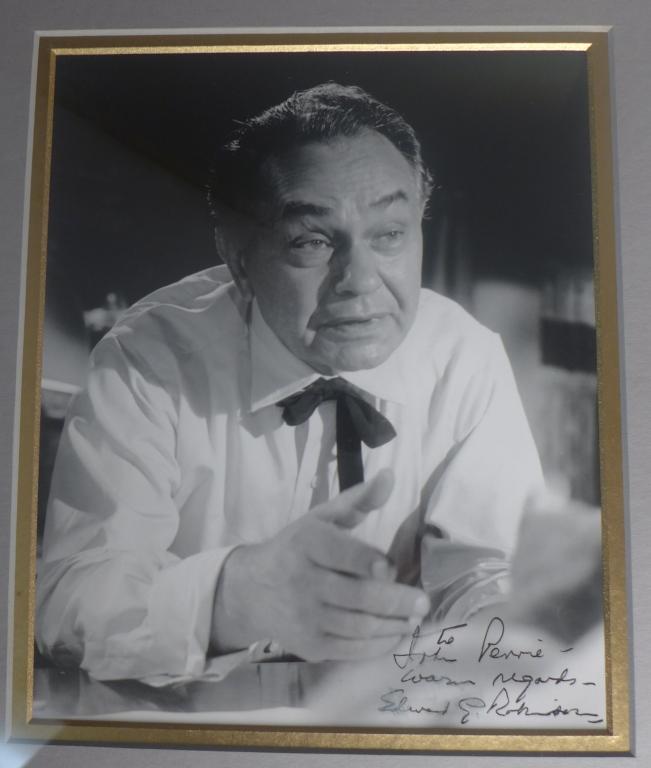 Edward G. Robinson Autographed Photo