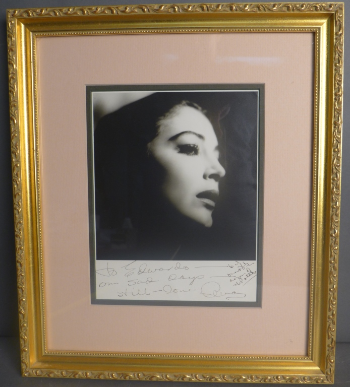 Ava Gardner Autographed Photo