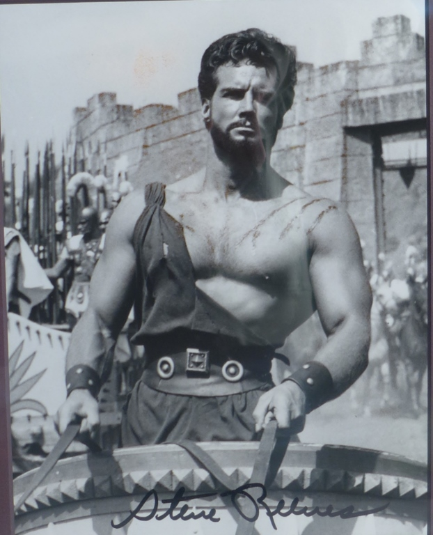 Steve Reeves Autographed Photo