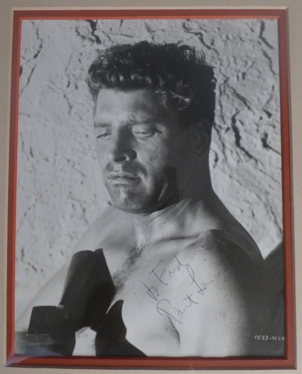 Burt Lancaster Autographed Photo
