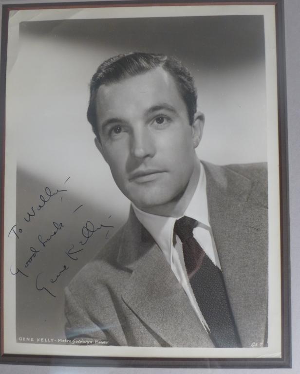 Gene Kelly Autographed Photo
