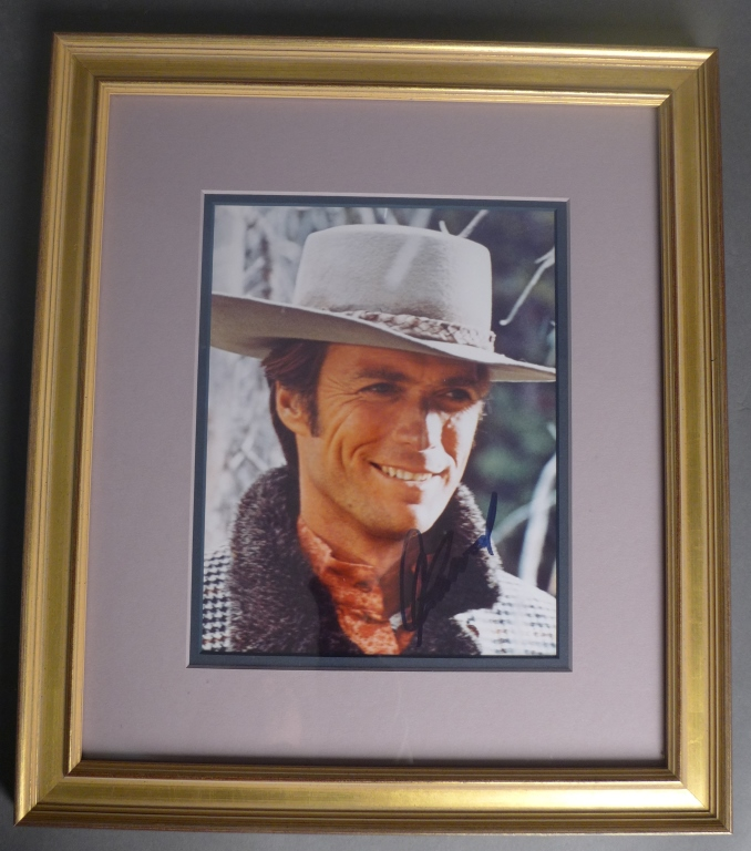 Clint Eastwood Autographed Photo