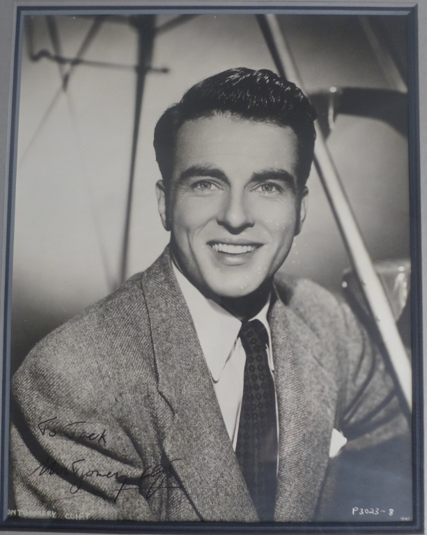 Montgomery Clift Autographed Photo