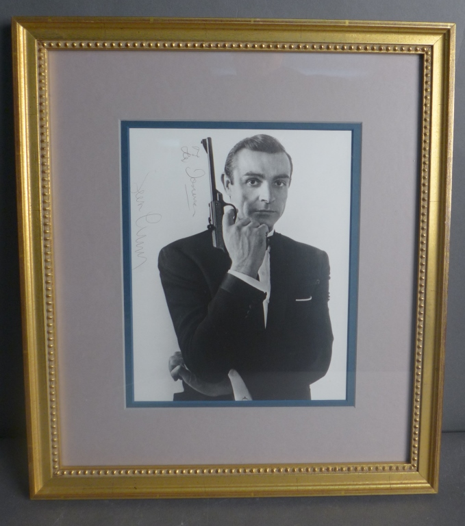 Sean Connery as James Bond Autographed Photo