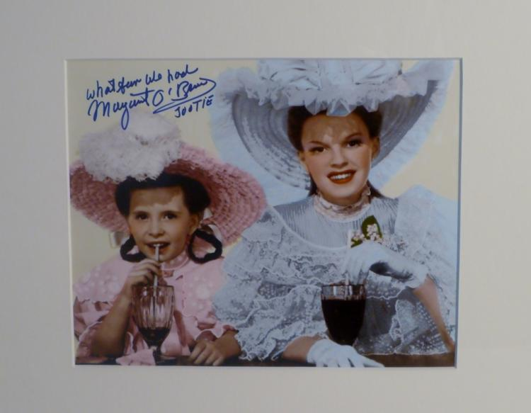 Margaret O'Brien Autographed Photo