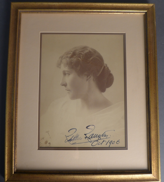 Lillie Langtry Autographed Photo