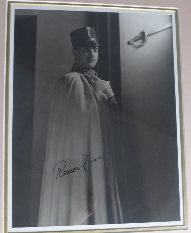 Ramon Novarro Autographed Photo