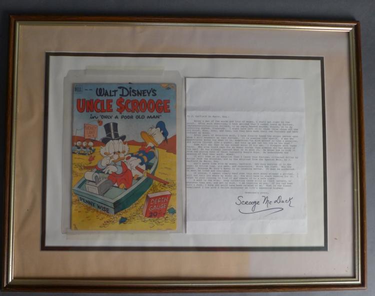 Walt Disney's Uncle Scrooge 1952 Comic Book