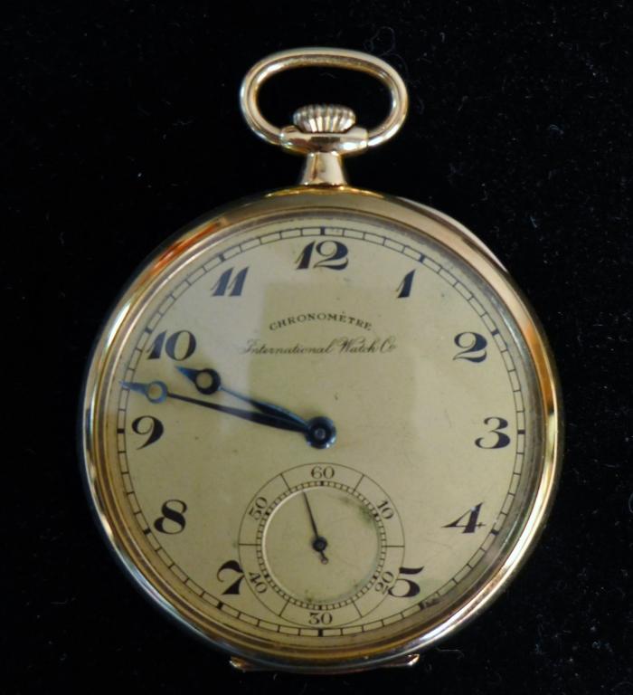 International Schaffhausen Chronometre PocketWatch