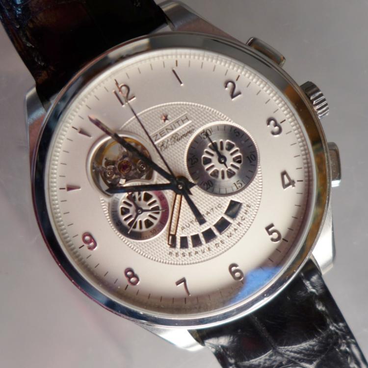 Zenith El Primero Chonograph Wrist Watch