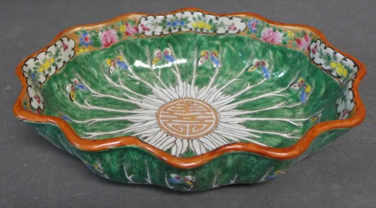 Cabbage Leaf Lotus Bowl