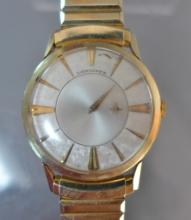 Vintage Longines Gold Men's Watch with Box