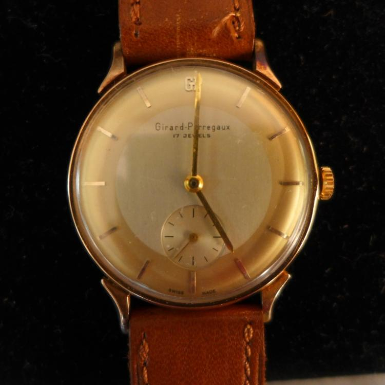 Girard Perregaux Gold Men's Wrist Watch