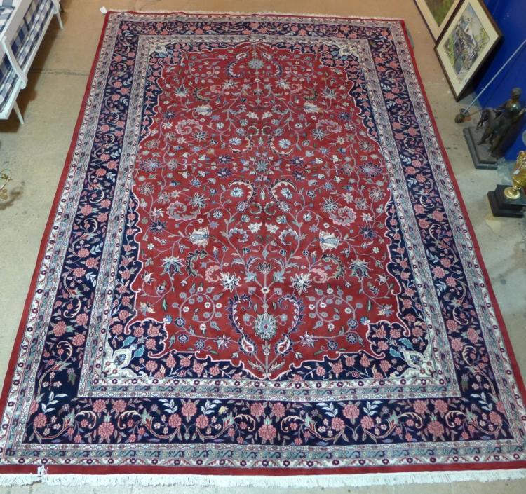 Imperial Kashan Oriental Rug