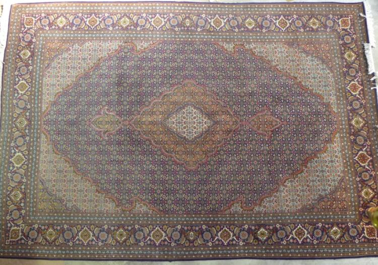 Large Persian Tabriz Rug