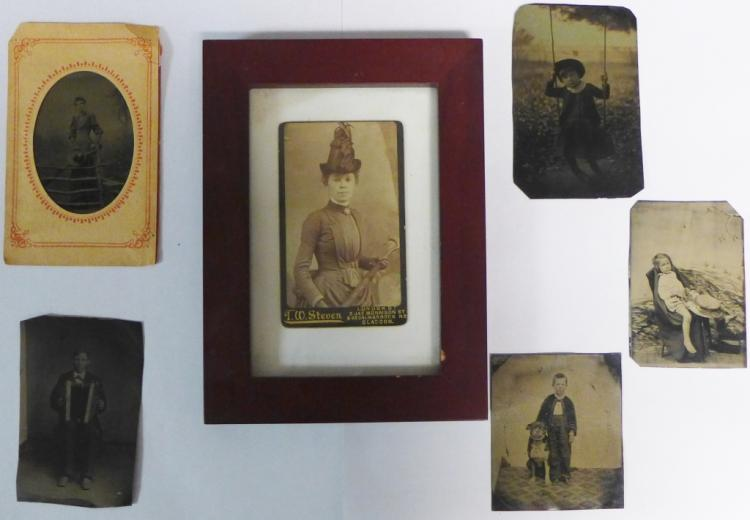 Grouping of Antique Tintypes