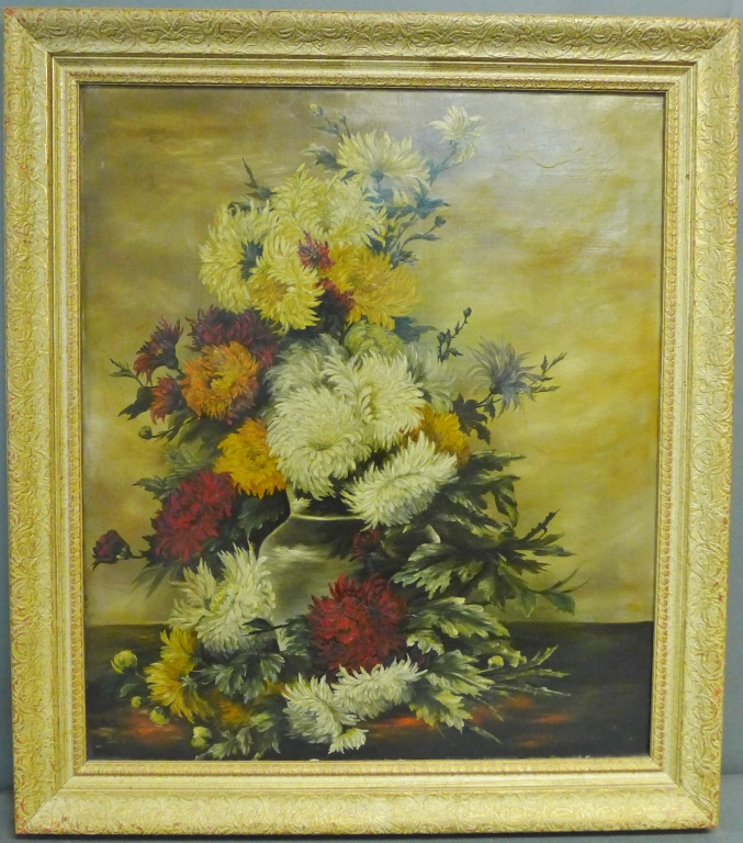Signed Antique Still Life Painting