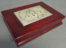 Italian ACCA Valore Nel Bello Castellani Card Box