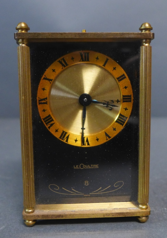Jaeger LeCoultre 8 Day Musical Alarm Clock
