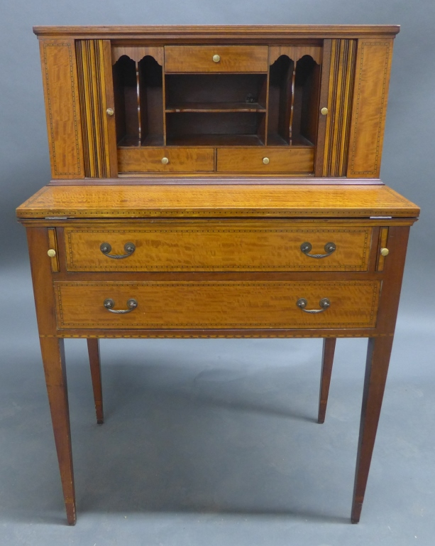 Secretary Flip Top Desk