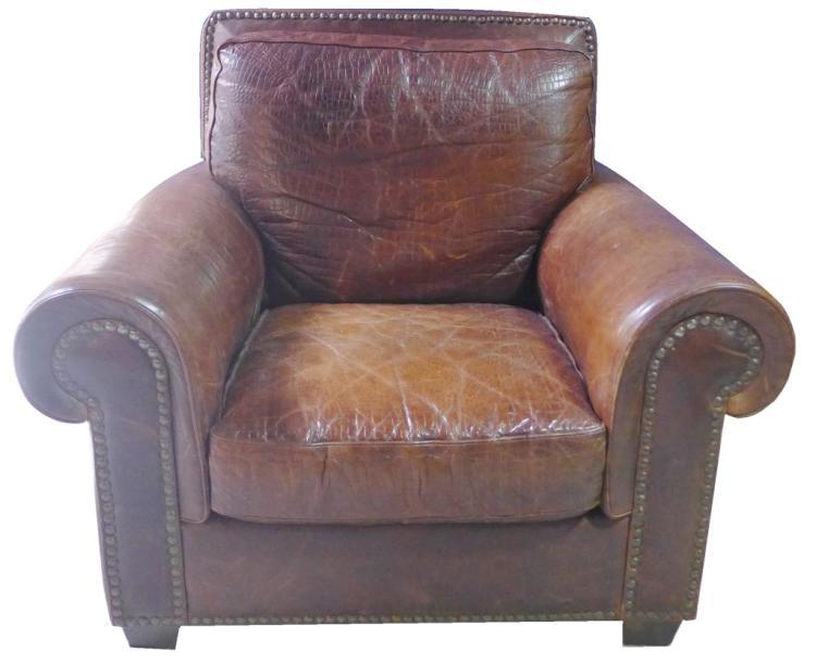 Leather Club Sofa Chair