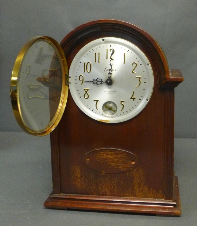 Vintage Sessions Electric Westminster Chime Clock