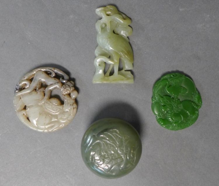 Collection of Carved Jade