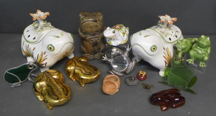 Eclectic Frog Grouping