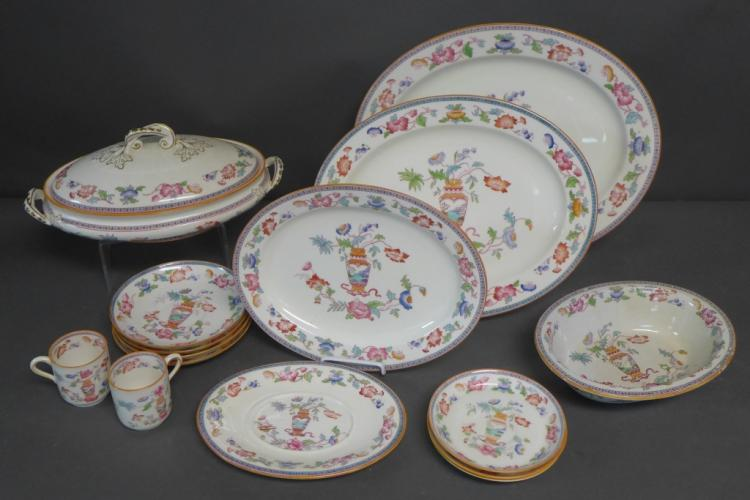 Antique Brownfield Porcelain Grouping