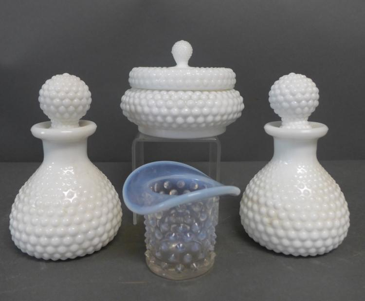 Hobnail Glass Collection