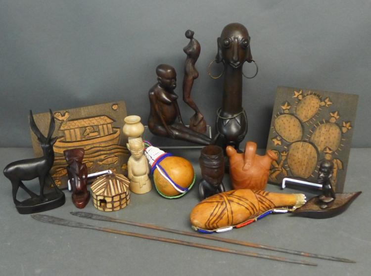 Tribal Carvings and Accessories